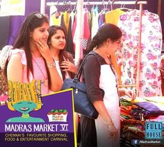Varieties of collections-a colorful click from Madras Market VI venue  #Collections #MadrasmarketVI #Variety #Shopping #Stall #Carnival #Venue