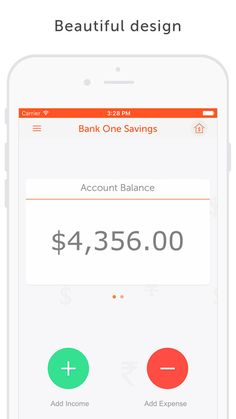 simple expense tracking app iphone