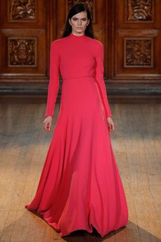 Emilia Wickstead Fall 2014 Ready-to-Wear Fashion Show