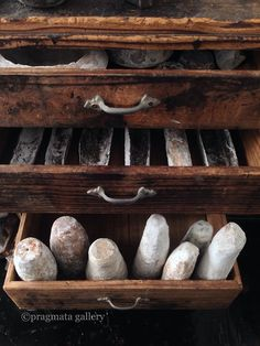 "pragmata-gallery: "" ""Petrified Fores•••ta!"" Ceramic objects by Haruna Morita. 「化石の森•••田!」 森田春菜さんの陶芸。 """