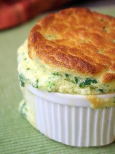 spinach souffle - great side dish for Easter brunch