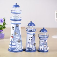Color Changing LED Lantern Lighthouse Night Light