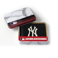 MLB New York Yankees Embroidered Billfold by Rico. $25.00. A team logo billfold makes a perfect gift for that big fan in your life, or a nice treat for yourself. Quality construction will last.