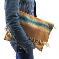Authentic Chimayo Woven Clutch Bag by SpunkVintage on Etsy, $96.00