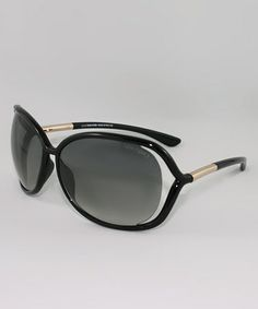 Love this Black Raquel Sunglasses by Tom Ford on #zulily! #zulilyfinds