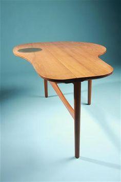 Occasional table    Designed by Finn Juhl, Denmark. 1949.