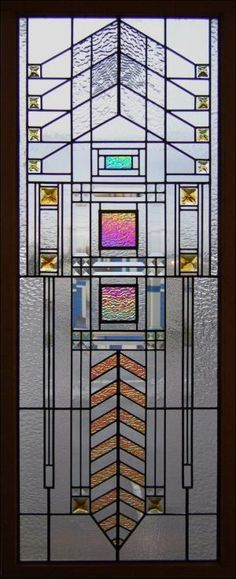 frank lloyd wright stained glass - by AislingH