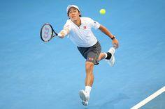 Kei Nishikori Photos - Brisbane International: Day 6 - Zimbio