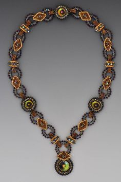 #Diane Dennis Beadwork necklaces #2dayslook #new #necklaces #nice www.2dayslook.com