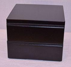 Simple Black Bento #bentobox #lunchbox http://www.hanabentos.com/