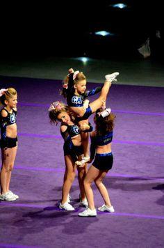 Cheerleading Cheerleader Cute Small Little California Allstars level 1