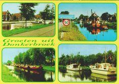 Groeten uit Donkerbroek (fotonummer AB302).