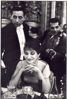 Maria Callas by François Gragnon 1959