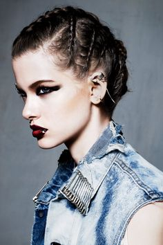 Tough Love: Super-Edgy Makeup | Teen Vogue