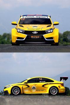 Lada Unveils Vesta WTCC Racing-car-concept