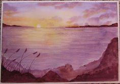 Original watercolor painting di AcquerellArte su Etsy