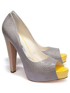 Hello Yellow!  http://www.intermixonline.com/product/shop+by+trend/spring+must+haves/shoes/statement+color/brian+atwood+colorblock+felini+peeptoe.do?sortby=ourPicks