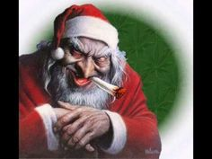 Alice Cooper Santa Claus Is Coming To Town Funny Christmas Pictures Christmas Humor Santa Funny
