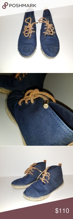 925fa5194515 TORY BURCH Lace Up Espadrille Boots True to size :) Tory Burch Shoes  Espadrilles