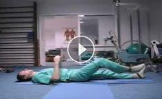 Ruský lekár vám predvedie niekoľko ľahkých cvikov, aby ste sa vyhli operácií chrbtice a vyliečili si vašu boľavú chrbticu - Báječné zdravie Hernia Exercises, Plank Workout, Pole Dancing, Natural Medicine, Bean Bag Chair, Health Fitness, Sport, Inspiration, Running