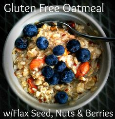 I had Gluten Free oatmeal this morning and it was So Delicious!!!! Never going back!!!!