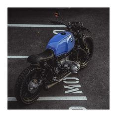 That BMW R100 | Build by National Custom Tech Motorcycles | Picture by Peter Pegam P78 | #bmw #scrambler #motorcycle