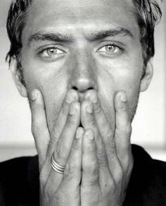 Jude Law. Didn't know he had freckles :)