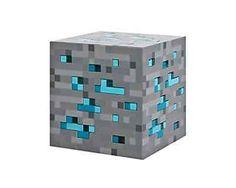 New Night Light Cube Lamp Bed Room Home Decor Show Toy Kid Diamond Ore MINECRAFT