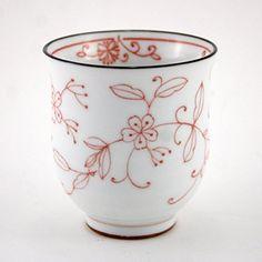 Japanese Minoyaki Porcelain Teacup / Historic Mino Porcelain / 6.4 Oz (pink) ZentealifeCom http://www.amazon.com/dp/B00N1OA3LI/ref=cm_sw_r_pi_dp_F9ZRub181A4ZF