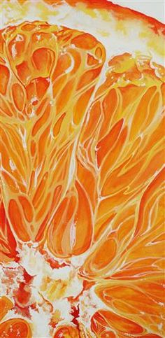 Orange, Acrylic Painting by Venus Winston, 2012