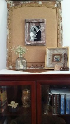Beautiful rustic picture frame.Great frames.for wedding pictures!