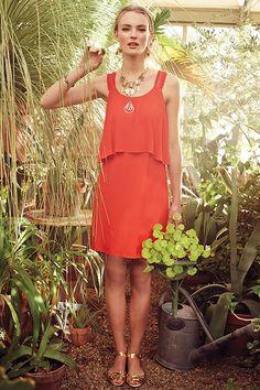 25 Flattering Summer Dresses #refinery29  http://www.refinery29.com/flattering-clothes#slide18