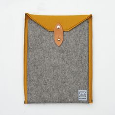 Felt Ipad Case. $65.00, via Etsy.