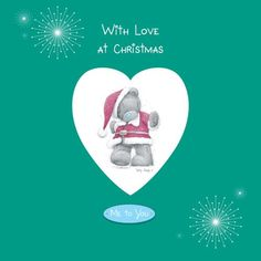 "With Love at Christmas: Me to You (Me to You Series). With publication date scheduled in plenty of time for the holiday shopping season, With Love at Christmas can be considered the ultimate Christmas card to accompany a larger gift, or simply to serve as a thoughtful and affectionate stocking stuffer. Tatty Teddy celebrates the holiday season in a series of two-page spreads, each of them pairing a charming Tatty Teddy illustration with a simple message such as ""You are the icing on my…"