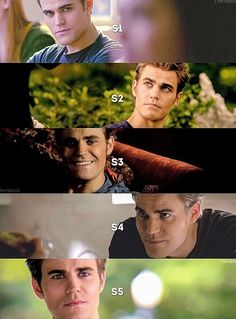Does anyone else think Stefan is WAY tanner now in season 5 than he was in season 1?