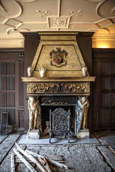 Newport mansion undergoing restoration