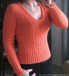 Пуловер цвета солнца