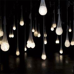 Light Sock Chandeliers
