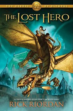 the lost hero is the first book in the second series although Percy Jackson is not the main character he is still in the story but the main characters-Jason, Piper, and Leo have to go on a quest to save Pipers dad and rescue Hera but along the way they meet a lot of not so nice creatures.