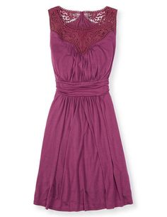 Broderie Jersey Dress WH764 Special Occasion Dresses at Boden