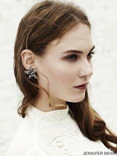 Earrings by Jennifer Behr, available at www.jenniferbehr.com