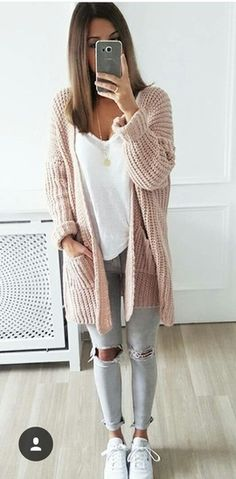 a77b2de93a6 72 Best Cute Cardigan Outfits images in 2019