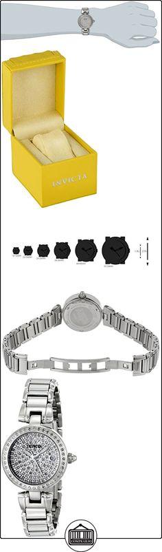 Festina-Reloj analógico de pulsera para mujer 26mm acero pulsera y cristal flame-fusion caso cuarzo esfera plateada FECHA reloj 15873  ✿ Relojes para mujer - (Lujo) ✿