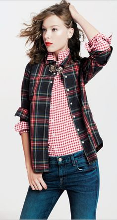 love this look from j.crew