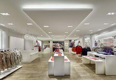 Wanner Fashion store by Heikaus, Schwäbisch Hall   Germany store design