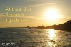 """At the end of the storm is a golden sky.""    I invite you to join me in this beautiful journey called LIFE by sharing your reactions, thoughts and reflections about this post by leaving it in the comment section below or on the link http://www.joelrandymar.com/a-golden-sky/    If you like this post, kindly share it with others. Help me spread peace and happiness in my own little way.    Be blessed. Be happy. Be at peace. Life is beautiful!"