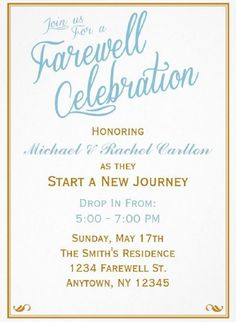Free Farewell Invitation Template Best Of 20 Farewell Party Invitation Templates – Psd Ai Indesign Farewell Invitation Card, Reception Invitation Wording, Invitation Writing, Dinner Invitation Template, Invitation Examples, Printable Invitation Templates, Wedding Invitation, Free Printable, Lunch Invitation