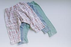 free pattern - baby harem pants