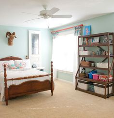 bedroom ideas teenage girls artist fun makeover, bedroom ideas, home decor, wall décor. Do shutters and paint on your initial and Paris theme.  Add night stands