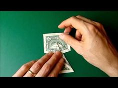 Money origami dress...A great way to give money in a card!